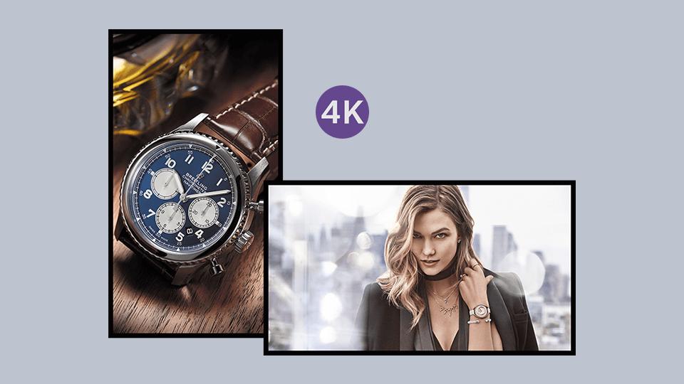 4K Commercial Displays